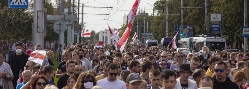 Brest protest