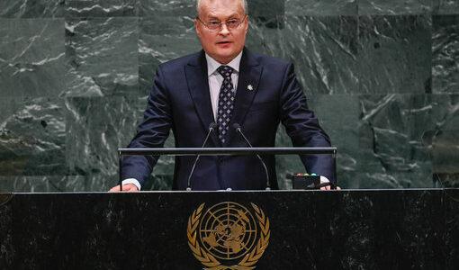 Gitanas Nausėda, the President of Lithuania