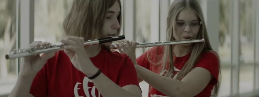Estonian flute players