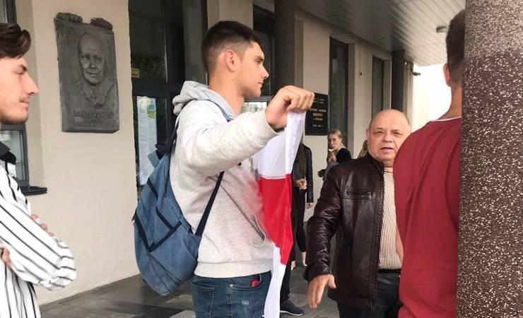 Sergey Yesaulenko's one-man protest