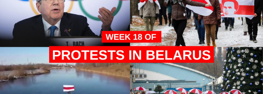 Belarus | Week 18 of protests (7–13 Dec)