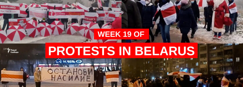 Belarus | Week 19 of protests (14–20 Dec)