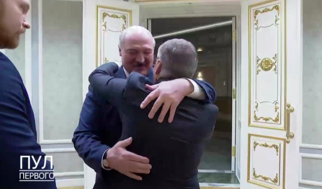 Fazel and Lukashenko