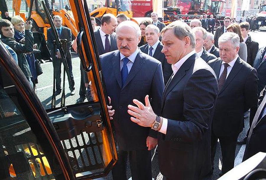 Alexander Lukashenko and Aliaksandr Shakutsin Sr