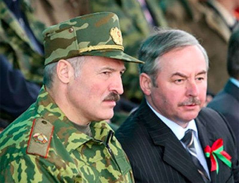 Alexander Lukashenko and Viktar Sheiman
