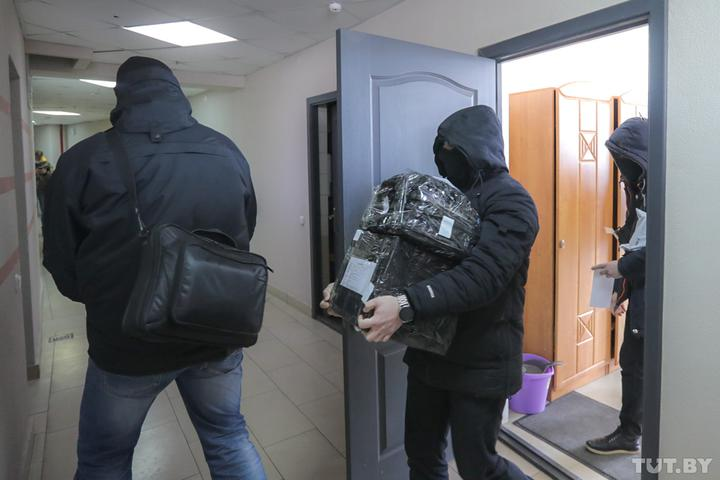Minsk crackdown on free press
